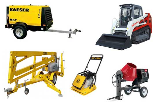 Equipment rentals in Kansas City, Parkville, Platte City, Gladstone, Liberty Missouri